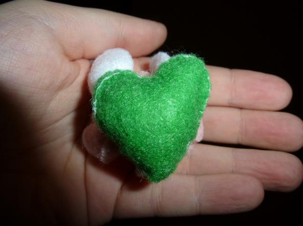 flower heart bottom